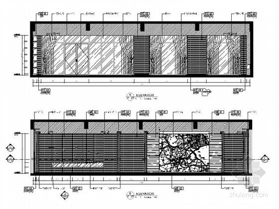 [杭州]现代简约售楼处室内装修图(含效果和实景) 立面
