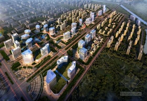 [内蒙古]现代风格城市综合体规划方案文本(知名地产公司)