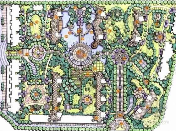 [合肥]国际花都四期景观设计规划方案