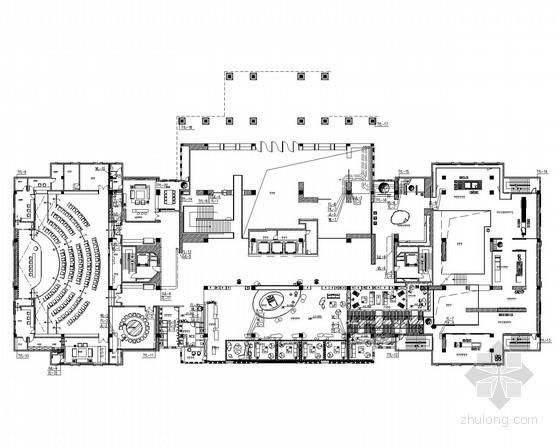 艺术餐饮多层综合性建筑给排水施工图