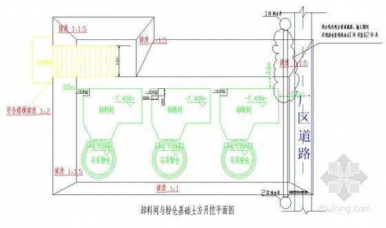 [江苏]发电厂卸料斗深基坑施工作业指导书