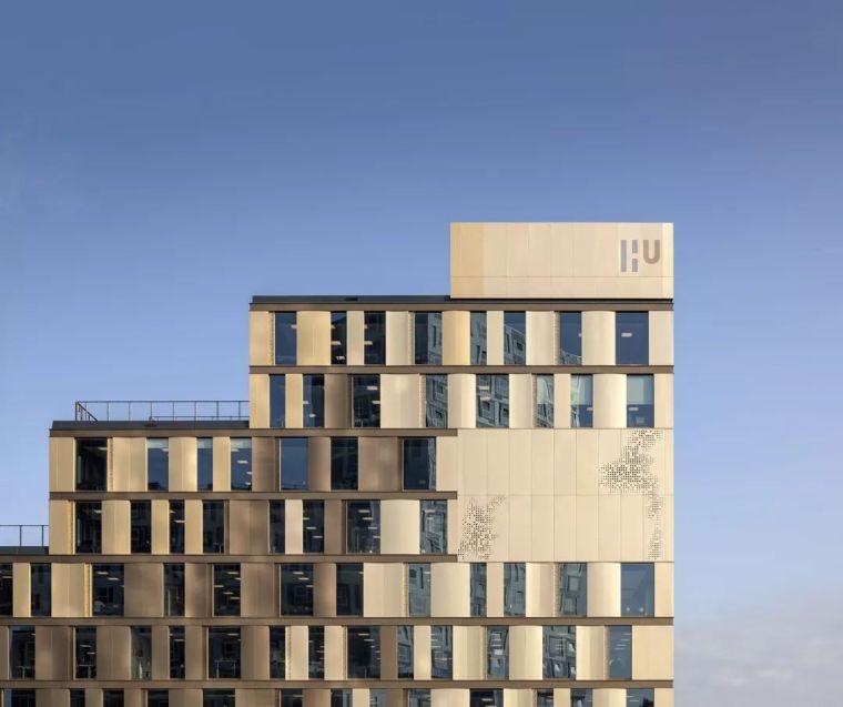 拥有一个霸道中庭的荷兰UTRECHT应用科学大学教学楼/SHL_7