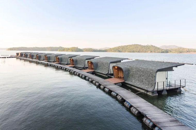 超美的水上筏式酒店设计,美出了新高度_6
