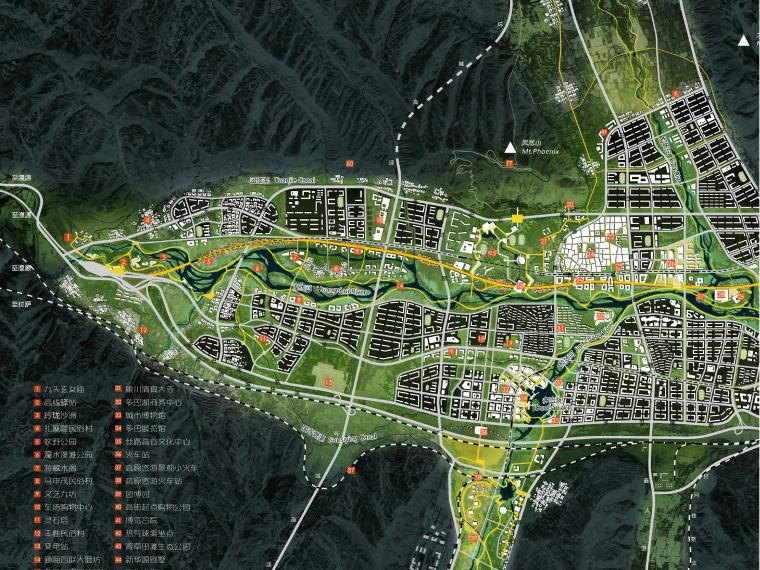 [西宁]河湟高城多巴新城概念规划和总体城市设计