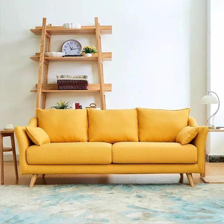 你不知道的客厅彩色沙发,给你不一样的格调。_6