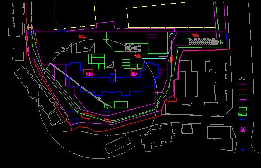 施工电梯基础施工方案(二期)-(最终版)-二期施工电梯平面布置图