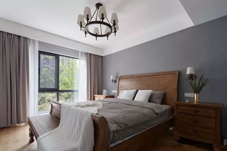 床头柜这样搭配,卧室真的好美!