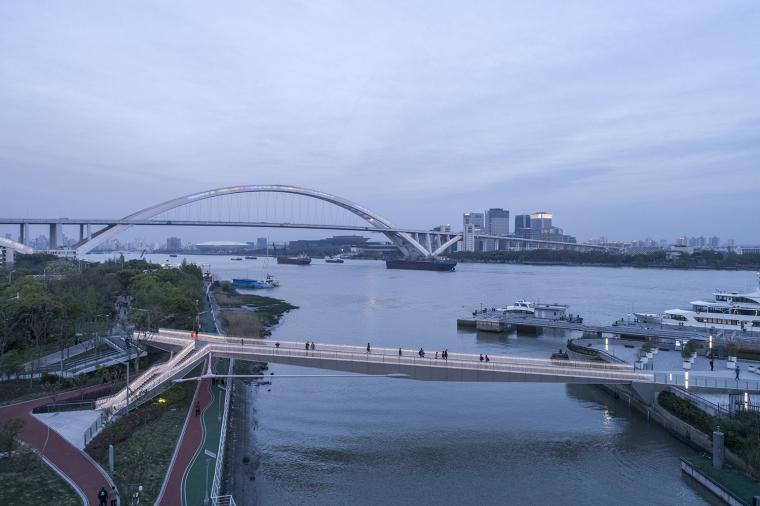 上海日晖港步行桥-8