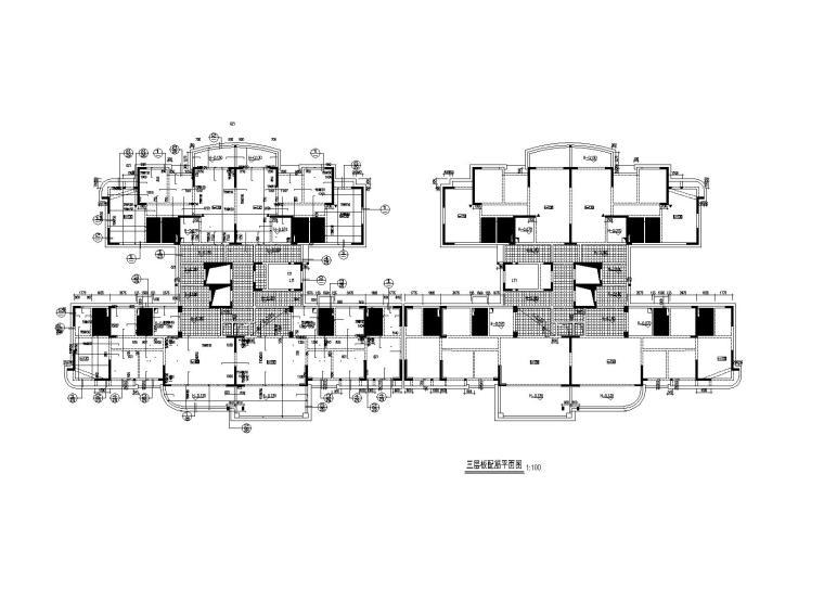 18层剪力墙结构住宅楼建筑结构施工图2014
