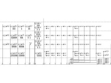[湖南]大型商场全套电气图纸