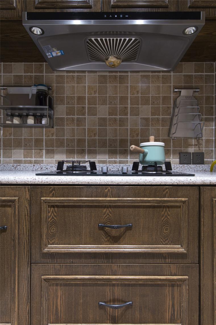美式乡村和摩登混搭仲夏之夜住宅室内实景图 (16)