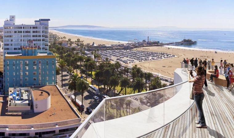 多面折角形式新海洋大道多功能综合楼-5