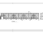 欧式双层临街商铺建筑设计初设图CAD