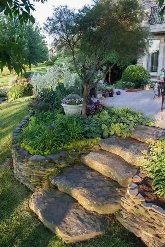 你的庄园里有这样的石元素创意景观吗?_10