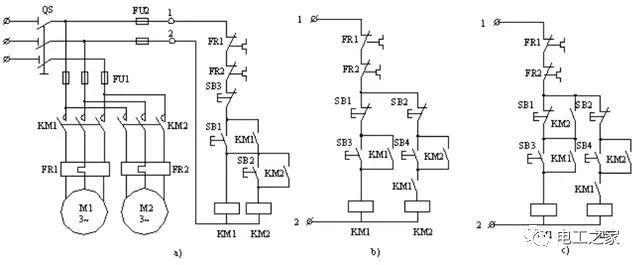 电气控制线路图的绘制及分析_5