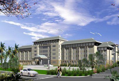 海南省某政府办公楼外墙石材挂贴施工方案