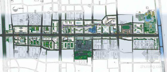北京某景观大道设计方案