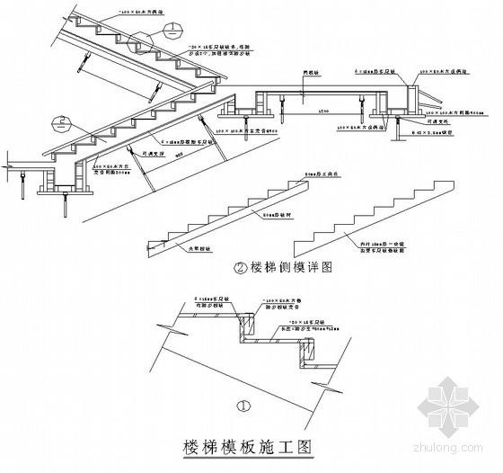 地下室模板施工技术交底(节点详图)
