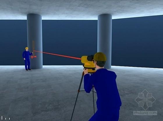幕墙工程测量放线方案