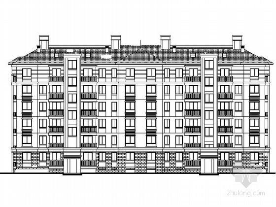 [安徽巢湖]某六层住宅楼建筑施工套图(16号)