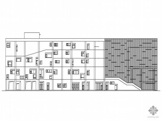[东莞城区]某五层少年宫建筑设计施工套图(含节能部分资料)