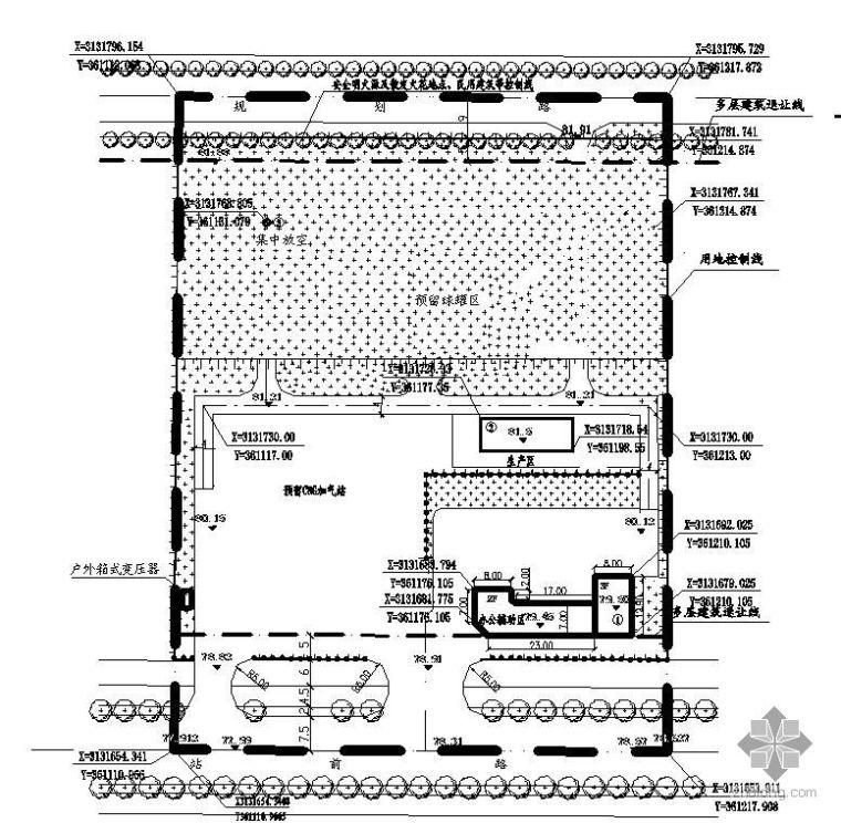 湖南某储配站管道安装工艺图