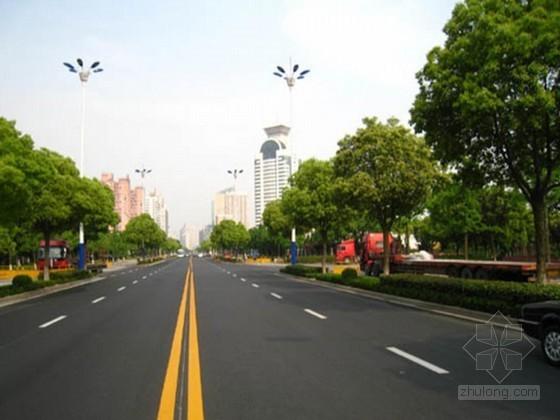 [四川]市政绿化工程沥青道路专项施工方案