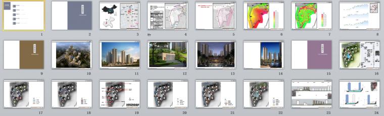 [重庆]欧式现代大型住宅区建筑设计方案文本缩略图