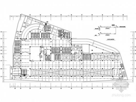 [南京]办公楼人防工程给排水施工图