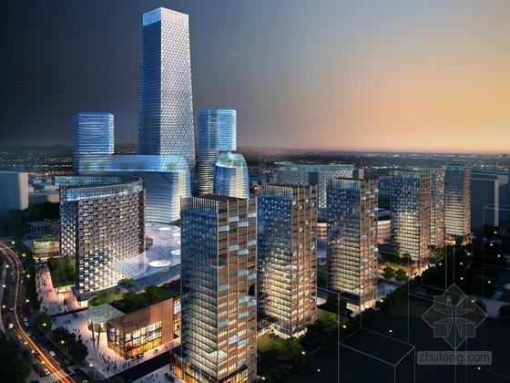 商业综合大厦3D模型下载