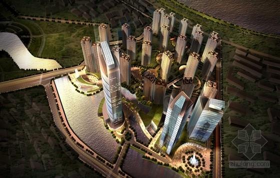 [辽宁]三面环水地块城市综合体设计方案文本