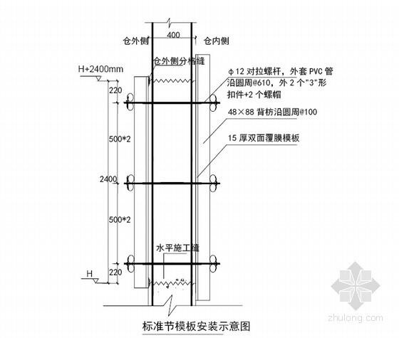 [湖北]热电联产工程筒仓上部结构施工方案