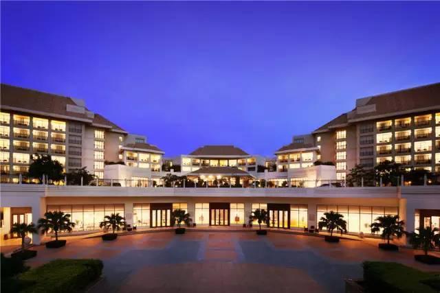 10家顶级酒店的整体景观设计,震撼人心...-亚龙湾万豪度假酒店