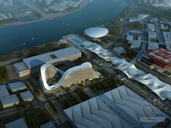 [上海]22层超五星酒店建筑设计方案文本