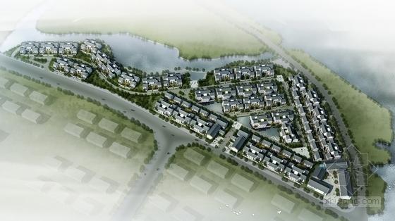 [河南]中式风格别墅区规划及单体设计方案文本