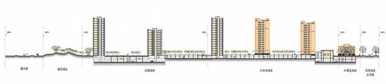 Artdeco风格高端住宅区规划剖面图