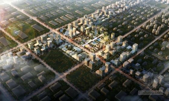 [北京]商务区规划及单体设计方案文本