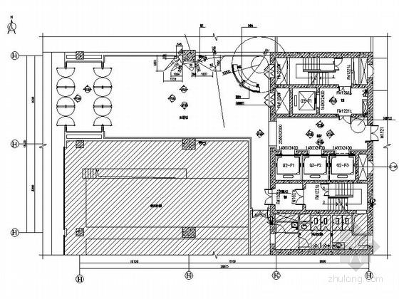 [北京]高档住宅小区回迁楼公共区装修设计施工图(含效果)