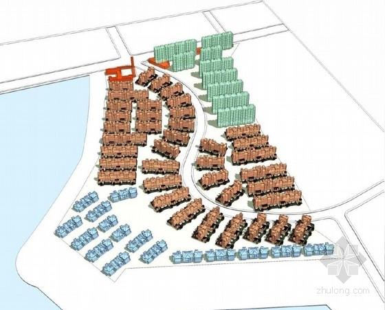 [武汉]英伦小镇休闲式住宅建筑设计方案文本