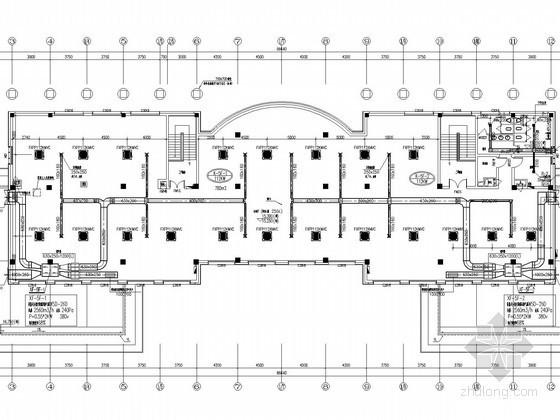 [浙江]行政办公建筑空调及通风系统设计施工图(变冷媒流量空调系统)