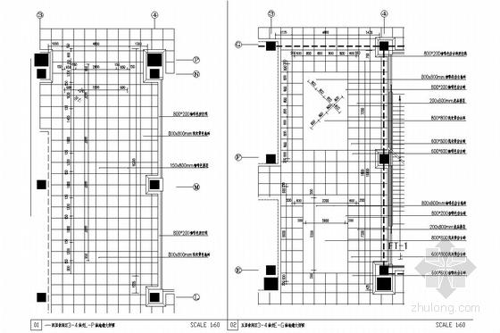 [内蒙古]大型家居建材主题购物中心施工图(含效果图) 铺地大样图
