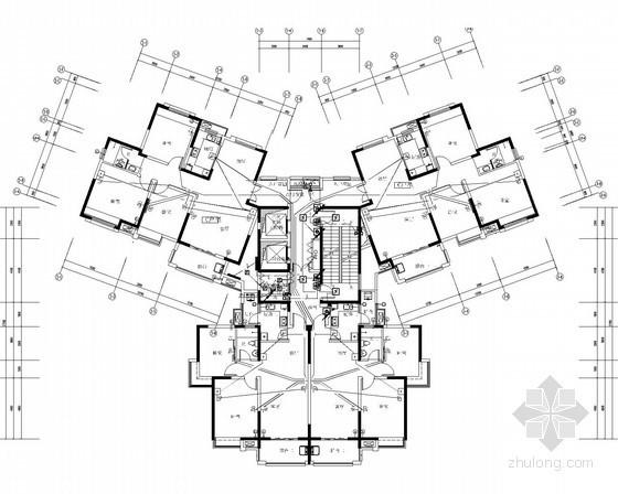 [安徽]综合住宅小区全套电气施工图530张(配电房设计 审图意见)