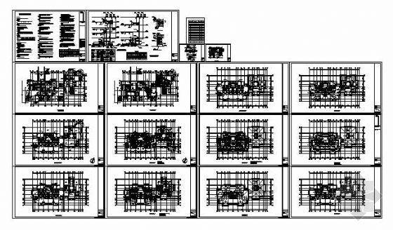 北京某别墅区空调设计图纸