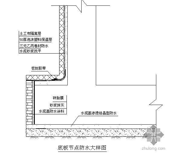 浙江某超高层地下建筑防水工程施工专项方案(钱江杯,争创鲁班奖)