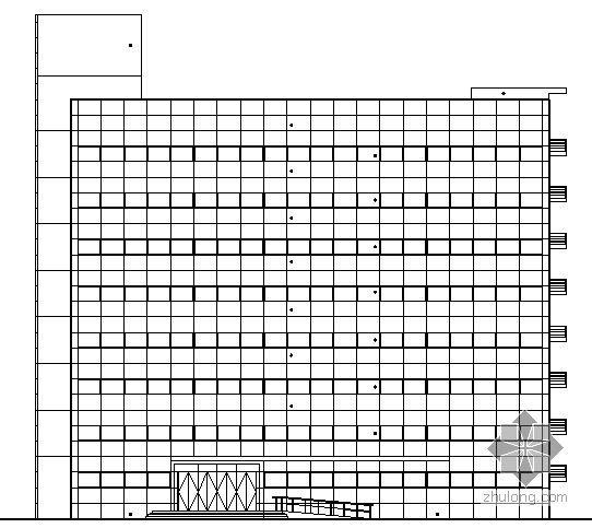 [青島]某環保產業園區八層辦公樓建筑施工圖