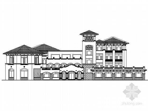 [江苏]某二十四班欧式幼儿园建筑施工图