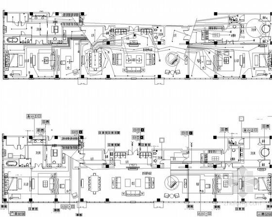 [江苏]6层商务酒店智能化系统图纸