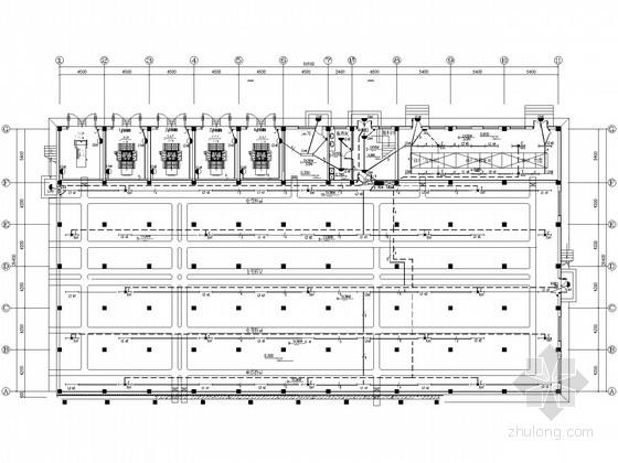 大型石化模具变配电全套结构施工图纸80张瓶盖项目图纸工程图片