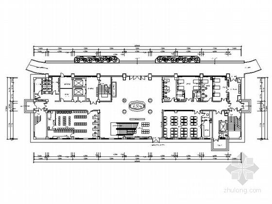 [湖北]某专科医院一层室内装修施工图(含效果)