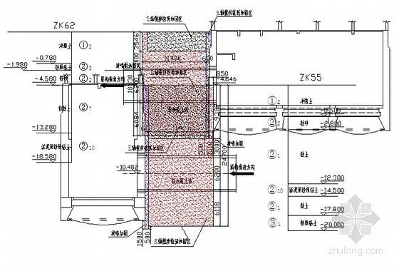 [河北]沉井地基加固三轴搅拌桩施工技术交底